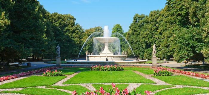 Atrakcje w Warszawie: Ogród Saski