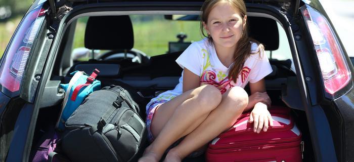 W bagażniku