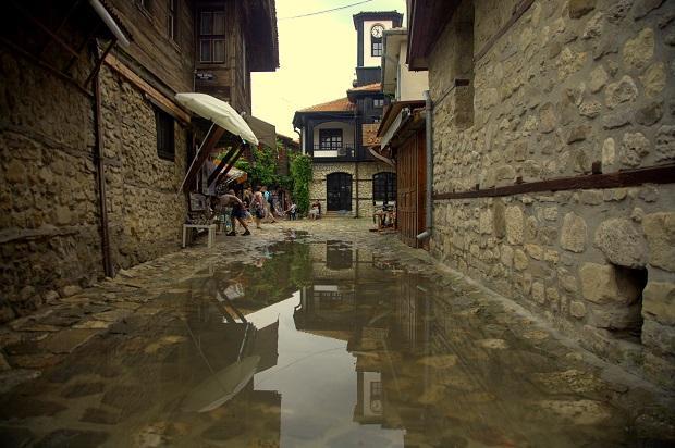 Nesebyr - stare miasto