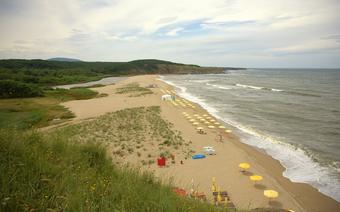 Sinemorec - ujście Wieleki i plaża