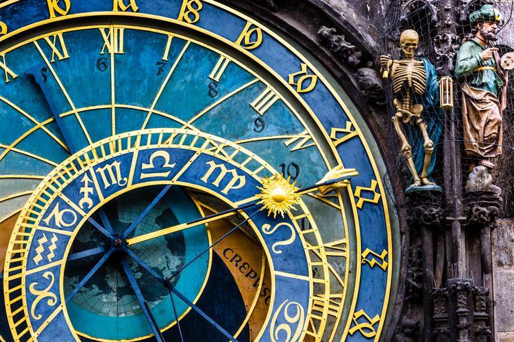 Praga atrakcje: Orloj