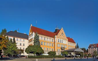 Ratusz po czeskiej stronie Cieszyna