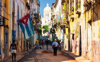 Karaiby, Kuba - Stara Hawana