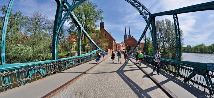 Wrocław, Most Tumski