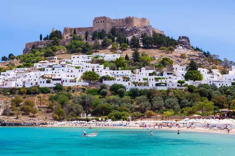 Wyspy greckie - Rodos