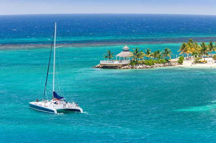 Karaiby, rejs katamaranem