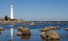 Estonia, latarnia na wyspie Hiuma