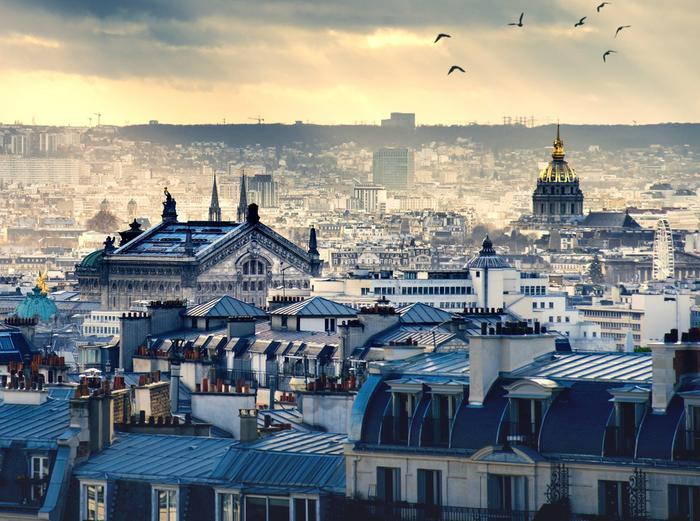 Dachy Paryża