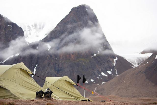 Buty trekkingowe, namiot - sprzęt górski