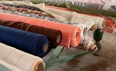 Maszyny w dawnej fabryce nawijały naraz aż 2 km tkaniny