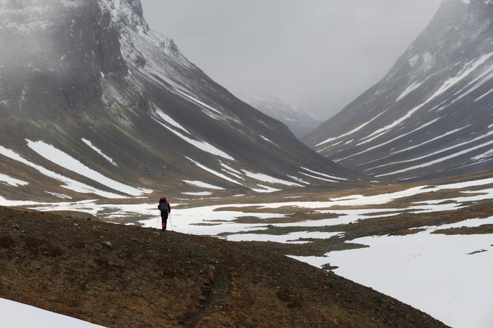 Trekking w Laponii