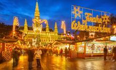 Bożonarodzeniowy jarmark w Wiedniu
