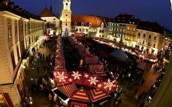 Jarmark bożonarodzeniowy w Bratysławie