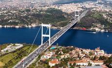 Fatih Sultan Mehmet Bridge w Stambule