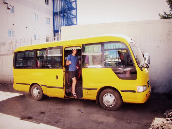 Kanarkowy autobus. Fot. J.Myśliński