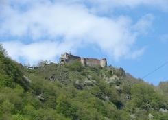 Ruiny zamku Poienari