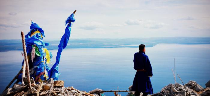 Błękit to ulubiony kolor Mongołów