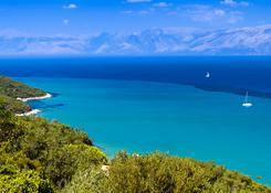 Piękno Natury wyspy Corfu