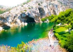 Jezioro Voulagmenis Ateny