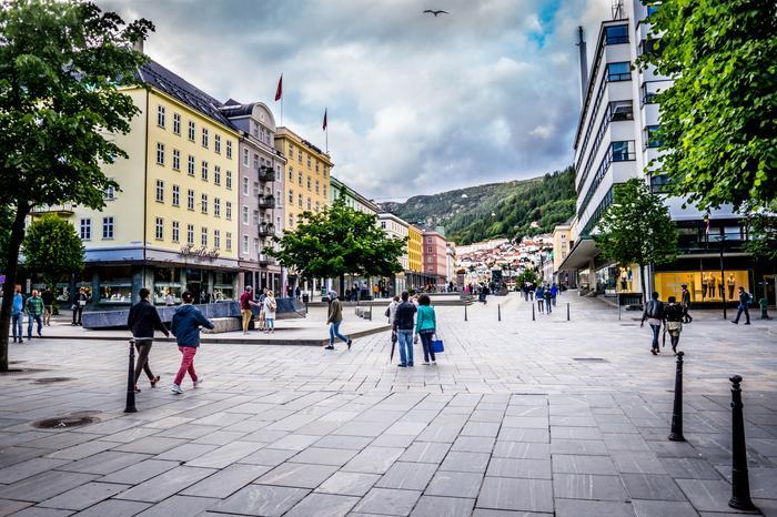 Trollsalmenningen, Blue Stone idealne miejsce na spotkanie jeśli nie zna się miasta.