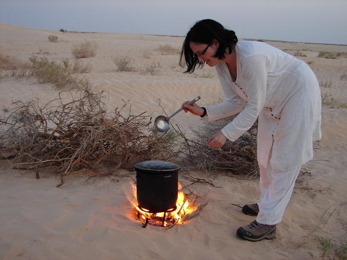 Kolacja na pustyni