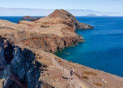 Przylądek św. Wawrzyńca, najbardziej wysunięty punkt na wschodzie wyspy