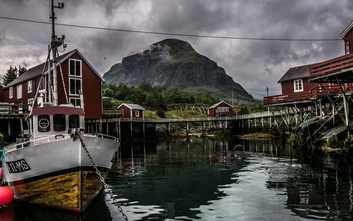 Kuter rybacki oraz hytty do wynajęcia w Å