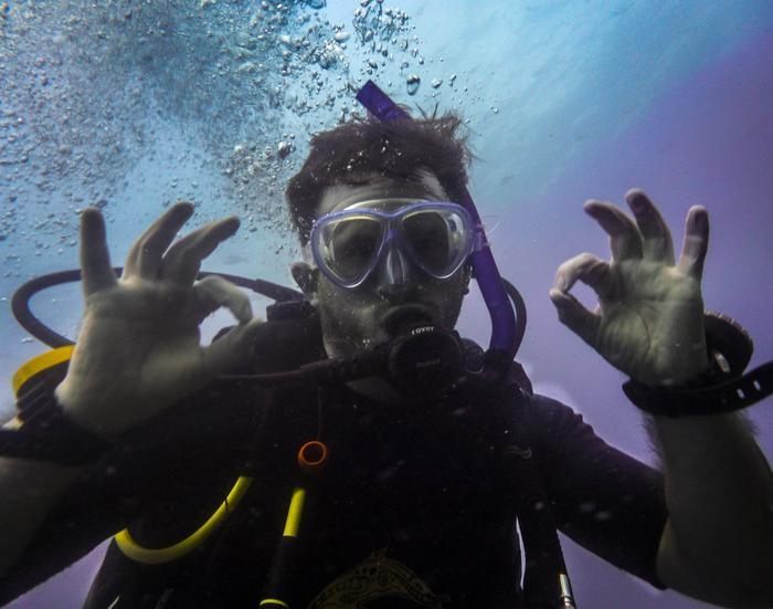 Tak pod wodą pokazuje się woooooow!