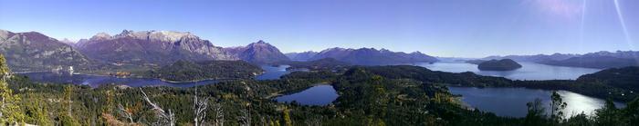 Widok z Cerro Campanario