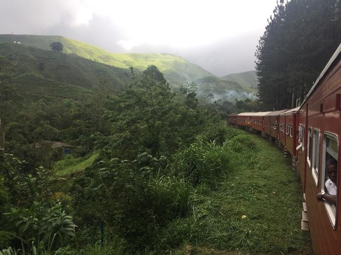 Pociąg w drodze do Ella