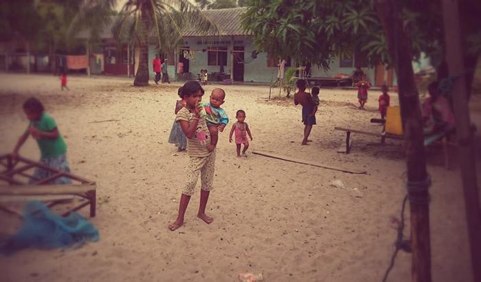W wiosce