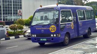 bus komunikacji miejskiej w Brunei