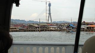 wioska na wodzie – Kampong Ayer