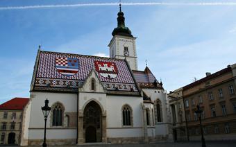 Zagrzeb - kościół św. Marka