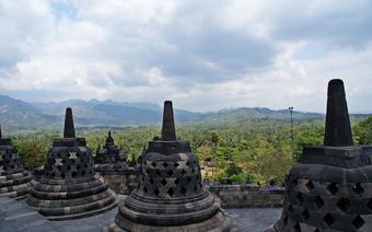 Borobudur – jedna z największych buddyjskich świątyń na świecie