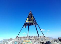 Jebel Toubkal (4167 npm.) + dwa metry