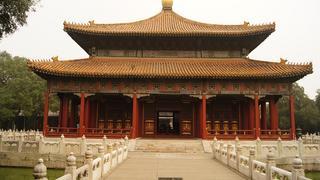 Jeden z pawilonów w Świątyni Konfucjusza