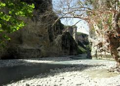 Kanion rzeki Osum.