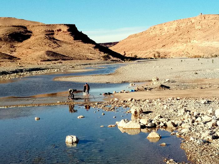 Rzeka i woda to życie ale też wygoda