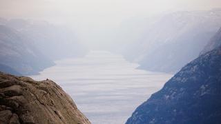 W głąb fiordu