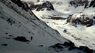 Zimowe wejście na Jabal Tubkal w Afryce - 500 metrów powyżej schronisk w dolinie