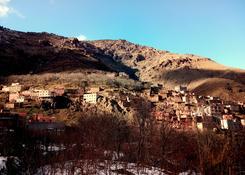 Zimowe wejście na Jabal Tubkal w Afryce - baza Imlil