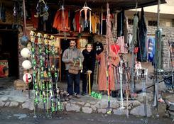 Zimowe wejście na Jabal Tubkal w Afryce - baza Imlil wypożyczalnia sprzętu