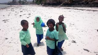 W drodze ze szkoły-Tanzania