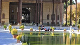 Iran. Isfahan - Pałac Chechel Sotun (Pałac Czterdziestu Kolumn)
