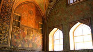 Iran.Isfahan - Pałac Chechel Sotun (Pałac Czterdziestu Kolumn)