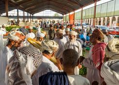 dzień targowy w Ibra