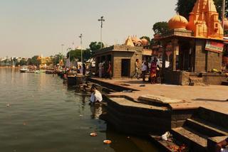 Bosymi stopami przez święte miasto Ujjain