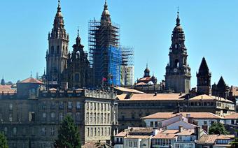 Cel wędrówki. Katedra w Santiago.