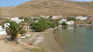Megalo Livadi na wyspie Serifos